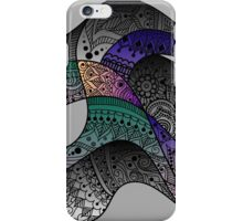paisley waves iPhone Case/Skin