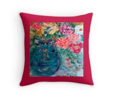 Romance Flowers Designer Home Decor & Gifts Throw Pillow