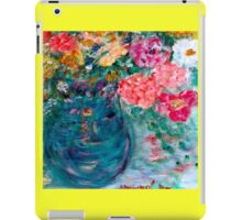 Romance Flowers Designer Art Decor & Gifts - Yellow iPad Case/Skin