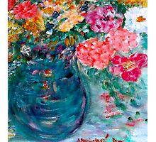 Romance Flowers Designer Art Decor & Gifts - Yellow Photographic Print
