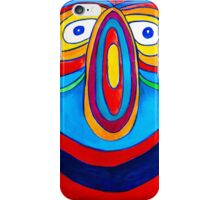 Rainbow Hand Drawn Face iPhone Case/Skin