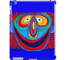 Rainbow Hand Drawn Face iPad Case/Skin
