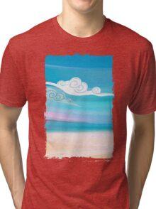 Sea and Clouds Tri-blend T-Shirt