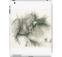 Lip Locked - Pencil iPad Case/Skin
