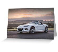 Mazda MX5 Miata Roadster Greeting Card