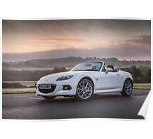 Mazda MX5 Miata Roadster Poster