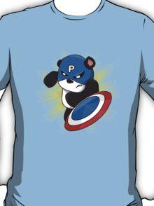 Captain Panda - The First Panda Avenger T-Shirt