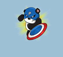 Captain Panda - The First Panda Avenger Unisex T-Shirt
