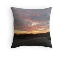 Festival Sunset Throw Pillow