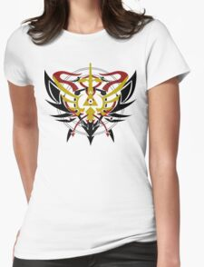 Triforce Renkinjutsu - A Zelda FMA mashup Womens Fitted T-Shirt