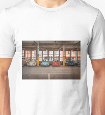 VW Beetle Bus Camper Classics Unisex T-Shirt