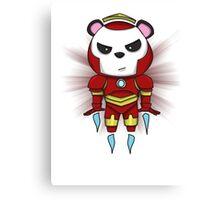 Iron Panda Canvas Print