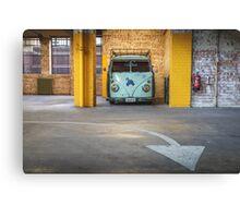 VW Beetle Bus Camper Classics 3 Canvas Print