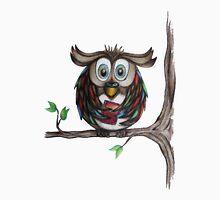 Crazy Owl - Bookworm Unisex T-Shirt