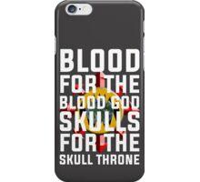 World Eaters War Cry - Warhammer iPhone Case/Skin