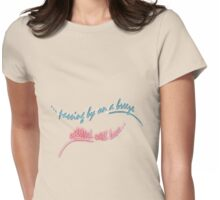 UPlifted by love... Womens Fitted T-Shirt