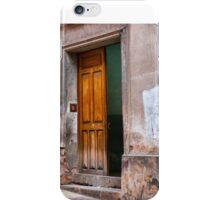 Doors of Bolivia - Ajar iPhone Case/Skin