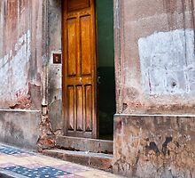 Doors of Bolivia - Ajar by lenscraft