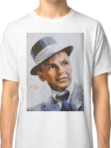 Frank Sinatra, Vintage Hollywood Legend Classic T-Shirt