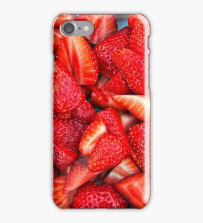 Strawberry Texture iPhone Case/Skin