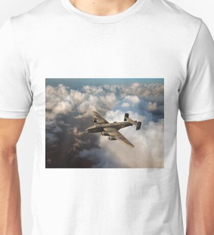 Handley Page Halifax above clouds Unisex T-Shirt
