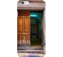 Doors of Bolivia - The Green Room iPhone Case/Skin