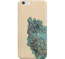 Blue coral iPhone Case/Skin