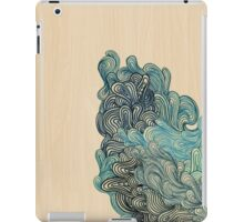 Blue coral iPad Case/Skin