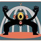 One eyed monkey by Ellis Nadler