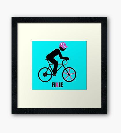 FIXIE Framed Print