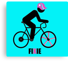 FIXIE Canvas Print