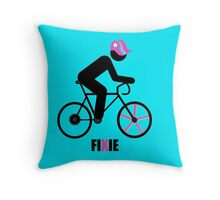 FIXIE Throw Pillow