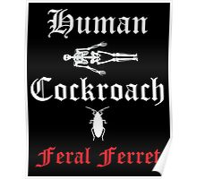 Human Cockroach Poster