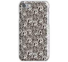 Abstract  floral graphic pattern iPhone Case/Skin