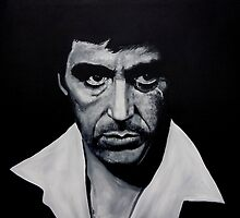 scarface by iconic-arts