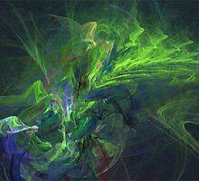 Green metamorphosis by MartinCapek
