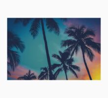Hawaii Palm Trees At Sunset Kids Clothes