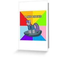 Maud Pie meets asdf: I like rocks! Greeting Card