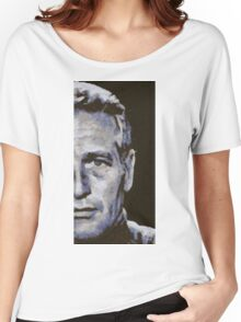 Paul Newman, Vintage Hollywood Legend Women's Relaxed Fit T-Shirt