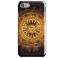Golden butterfly iPhone Case/Skin