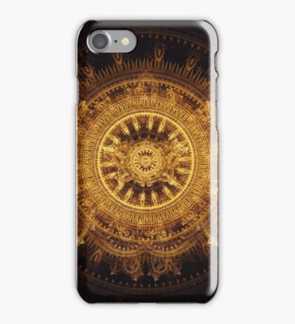 Golden butterfly iPhone Case/Skin