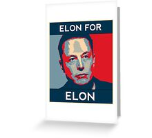 Elon for Elon Greeting Card
