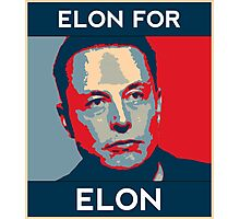 Elon for Elon Photographic Print