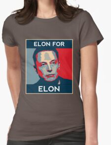 Elon for Elon Womens Fitted T-Shirt