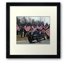 In Loving Memory/105 views Framed Print
