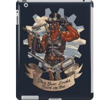 Inevitable Steampunk Version iPad Case/Skin