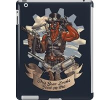 Inevitable Steampunk Version iPad Case/Skin