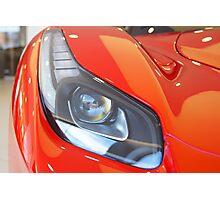 Ferrari - La Ferrari Head Light Photographic Print