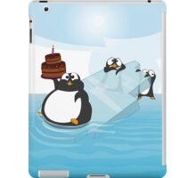 Birthday Penguin iPad Case/Skin