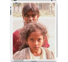 Two girls iPad Case/Skin